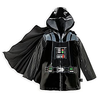 Disney Store Deluxe Caped Darth Vader Rain Jacket Star Wars Kids Sizes
