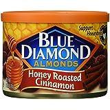 Blue Diamond Almonds Honey Roasted Cinnamon, 6 Ounce
