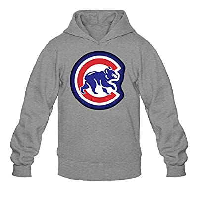 Libling Men's Chicago Cubs Logo Hoodie Sweatshirt