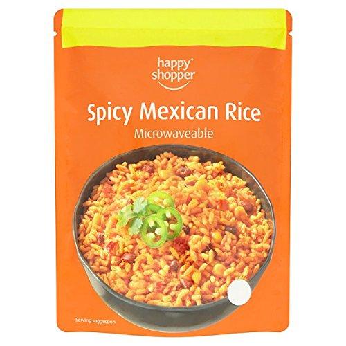 Happy Shopper épicé 250g de riz mexicain (pack de 6 x 250g)