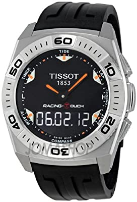 Tissot Racing Touch Quartz Black Men's Watch T002.520.17.051.02 by Tissot