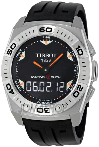 Tissot Racing Touch Quartz Black Men's Watch T002.520.17.051.02