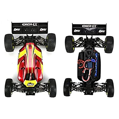 (Ship from USA) Losi Mini 8IGHT 1/14 Scale 4WD Brushless Buggy RTR FREE 7.4V 2000mAh 2S 20C LiPo