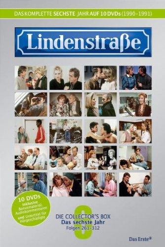 Lindenstraße - Das komplette 6. Jahr (Folge 261-312) (Collector's Box, 10 DVDs)