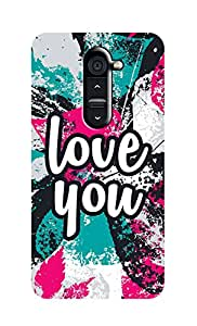 SWAG my CASE Printed Back Cover for LG G2