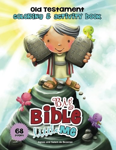 Old Testament Coloring and Activity Book: Bible Fun for Kids (Big Bible, Little Me) (Old Testament For Kids compare prices)