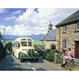 Summer Excursion - Eastern National Bedford OB Coach (greetings card)