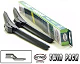 VW TIGUAN 2007-Onwards HEYNER AEROFLAT WINDSCREEN WIPER BLADES 24