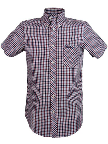Ben Sherman Shirt 'House Check' Short Sleeve [Medium]