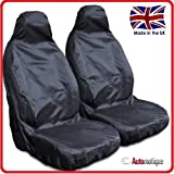 VAUXHALL CORSA 1.3 CDTI WATERPROOF VAN SEAT COVERS BLACK 1+1