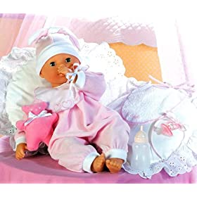 "Corolle Special Feature Baby Doll Lila - 17"" Doll"