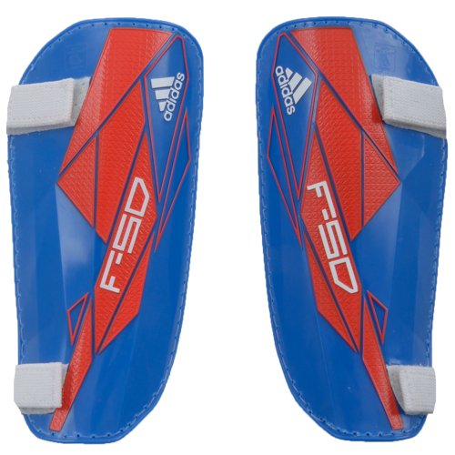 Adidas Mens F50 Lite Football Shinpads - Blue/Red