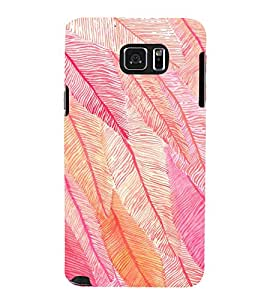 EPICCASE Feather Mobile Back Case Cover For Samsung Galaxy Note 5 (Designer Case)
