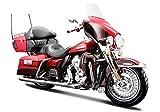 マイスト Maisto 1/18 ハーレー ダビッドソン Harley Davidson 2013 FLHTK Electra Glide ULTRA LIMITED オートバイ Motorcycle バイク Bike Model エレクトラグライド レッド [並行輸入品]