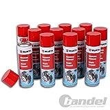 12 x Würth Bremsenreiniger 500 ml Bremsen Reiniger Entfetter Sabesto
