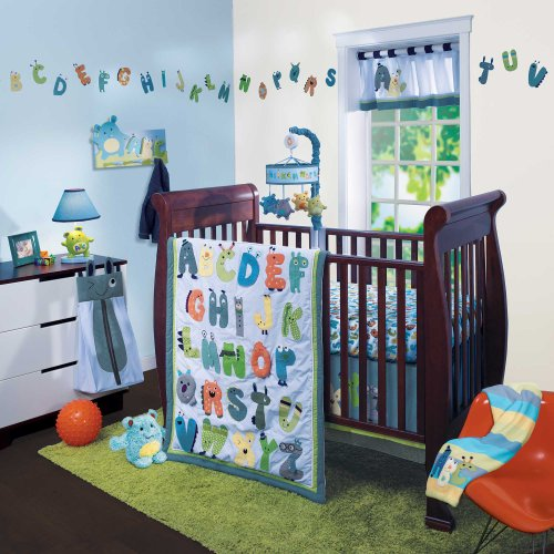 Baby Monster Bedding 1421 front
