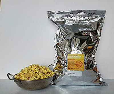 Masala Pop Indian Spiced Gourmet Popcorn - Savory Masala w/ Papadums [35-cup Bulk Bag]