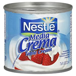 Amazon.com : Media Crema Mexican Cream Sauce, 7.6-Ounce (Pack of 8