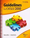9780763842604: Guidelines for Microsoft Office 2010
