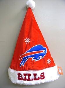 Buffalo Bills Licensed NFL Santa Hat