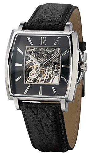 Kenneth Cole Watches KC1451 - Orologio da polso da uomo, cinturino in pelle colore argento