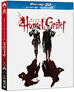 Hansel & Gretel : Witch Hunters [Combo Blu-ray 3D + Blu-ray + DVD]
