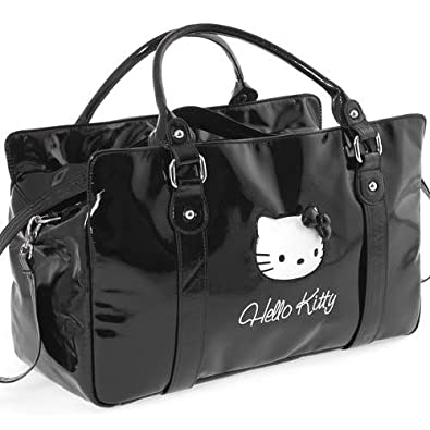 Grand sac à main Hello Kitty pop up noir By Camomilla