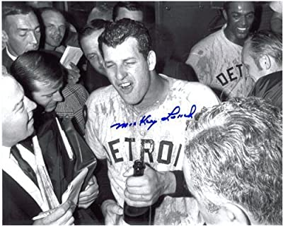 Mickey Lolich Autographed Detroit Tigers 8x10 Photo #7