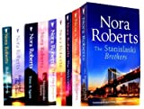 Nora Roberts Nora Roberts Collection 9 Books Set Pack RRP £62.91 (Silhouette Single Title) (The Stanislaski Brothers, The MacGregors: Alan & Grant, The Welcoming, The MacGregors: Serena and Caine, The MacGregors: Daniel & Ian, The Stanislaski Sisters, E