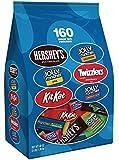 Hershey's Halloween Snack Size Assortment, 160-Count Bag