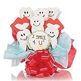 I Smile 4 U! Cookie Bouquet- 9 Pc Bouquet