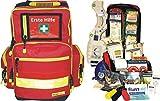 Erste Hilfe Notfallrucksack für Sportvereine & Freizeit - Nylonmaterial mit