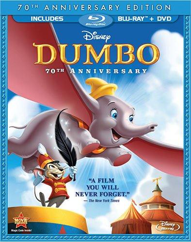 Dumbo en blu-ray et dvd!