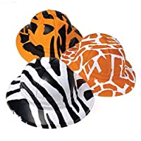 Animal Print Safari Hats (1 Dozen) - Bulk by US