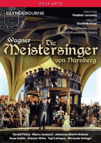 Wagner: Die Meistersinger (Nurnberg) (Marco Jentzsch/ Anna Gabler/ Michaela Selinger/ The Glyndebourne Chorus/ London Philharmonic Orchestra/ David McVicar/ Vladimir Jurowski) (Opus Arte: OA1085D) [DVD] [NTSC]