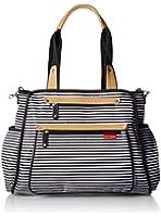 Skip Hop GRAND CENTRAL take-it-all diaper bag, Black Stripe