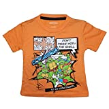 TMNT DON'T MESS WITH THE SHELL Toddler Little Boys Tee T-shirt Top