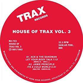 House Of Trax Vol 3
