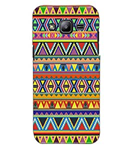 ColourCraft Tribal Pattern Design Back Case Cover for SAMSUNG GALAXY J2 J200G