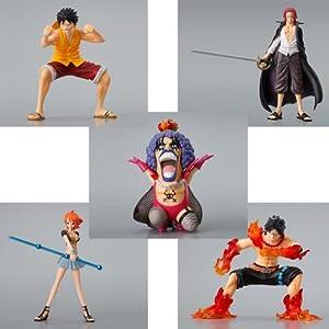 One Piece DG Digital Grade Vol. 1 Gashapon Figuren: Komplett-Set (5 Figuren)