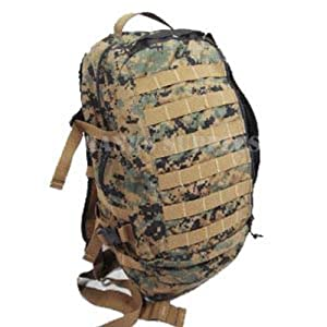 Military Outdoor Clothing MARPAT Digital Camo Assault Backpack, Woodland Camo by Military Outdoor Clothing