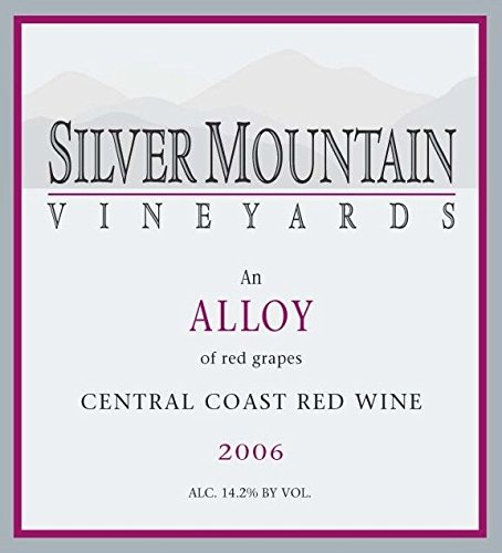 2006 Silver Mountain Vineyards Alloy Bordeaux Style Red Blend 750 Ml