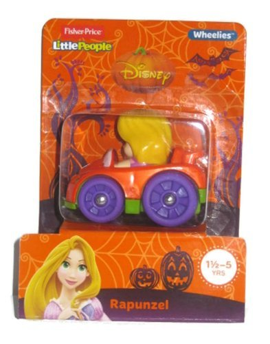 Fisher Price Little People Disney Wheelies Rapunzel Halloween