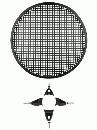 INSTALLBAY 85-9012 - Woofer Grills - 12 Inch Waffle Grille With Hardware Each rovertime rovertime rtm 85