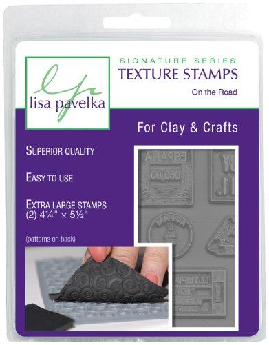 Lisa Pavelka 327151 Texture Stamp Kit On the Road