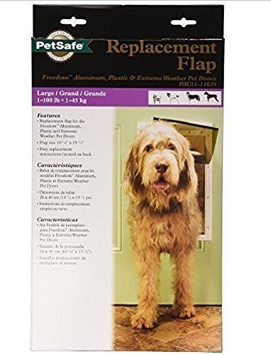 PetSafe Replacement Flap for PetSafe Freedom Pet Door Large, New For Pets!!! (Freedom Patio Panel Pet Door compare prices)