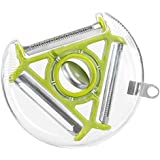 3-in-1 Design Rotary Peeler, Standard Blade, Soft Skin Blade, Julienne Blade, For Low Carb Raw Healthy Vegetable...