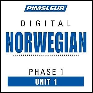 Norwegian Phase 1, Unit 01 Audiobook