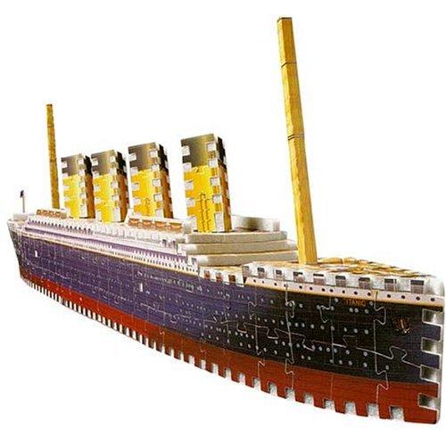 Cheap Hasbro Puzz 3D Titanic: 398 Piece Puzzle (B0013L7Z9O)