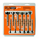 CMT 537.000.12   12-Piece Forstner Bit set, 10-12-14-15-16-18-20-22-25-26-30-35mm Diameters, 8-10mm Shank